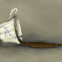 Belle's Spilled Cup.