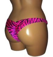 Mini Back Bikini - Side Angle View