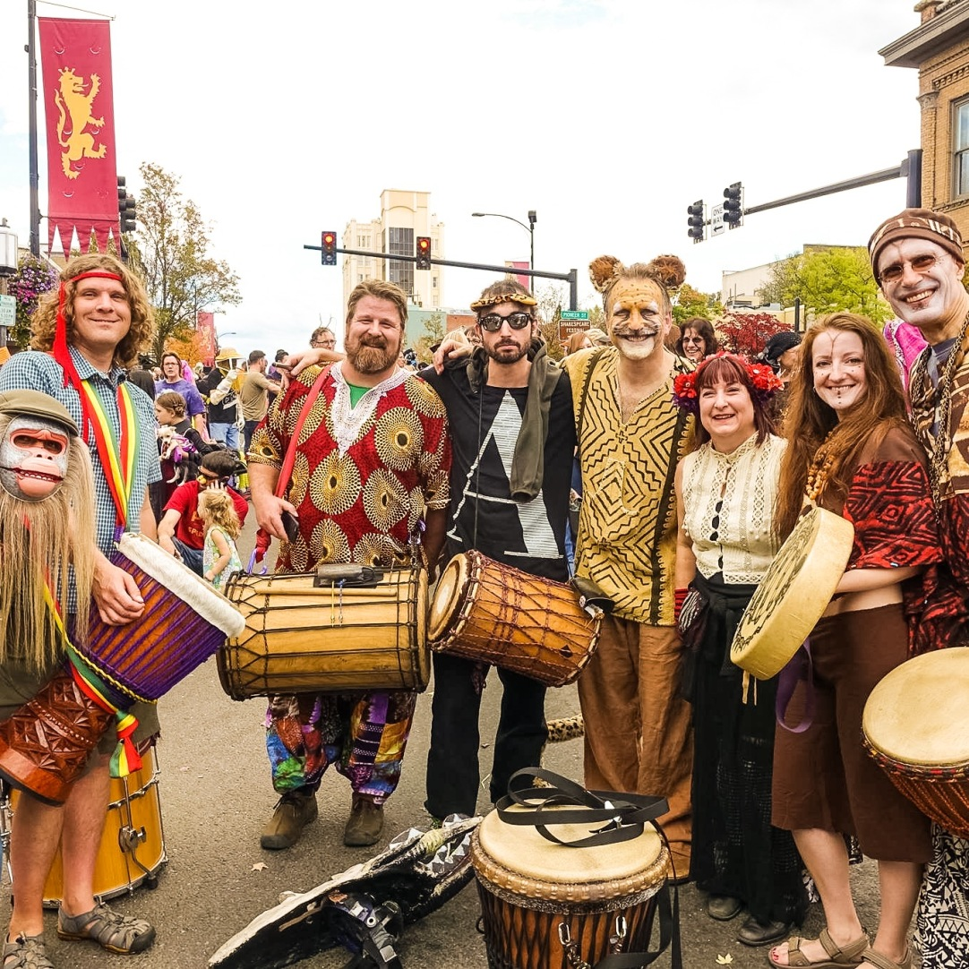 Costumes in Halloween Parade 2015
